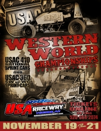 "SPRINTS CLOSE WITH ""WESTERN WORLD CHAMPIONSHIPS"" AT TUCSON"