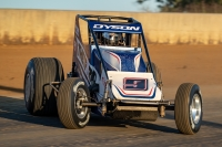 Two-time American Le Mans Series champion Chris Dyson made three USAC Silver Crown starts in 2018, finishing 13th at both Springfield and Du Quoin.