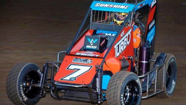 COURTNEY CORRALS PORT CITY'S USAC NOS ENERGY DRINK NATIONAL MIDGET DEBUT