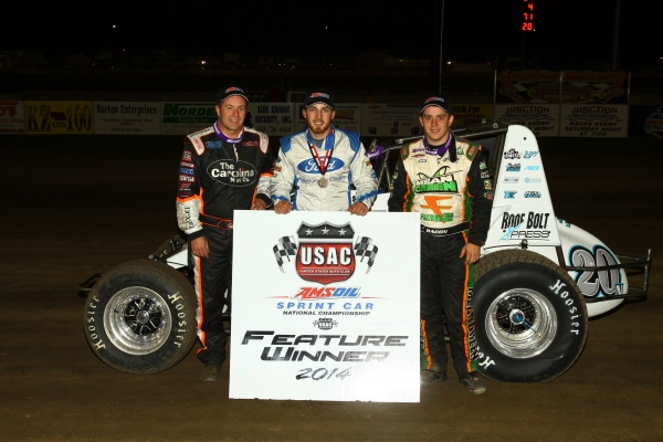 SCHUERENBERG SHINES IN McCOOL JUNCTION SPRINT CAR SCORE