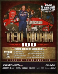 36 DRIVERS ENTERED FOR TED HORN 100 SATURDAY AT DU QUOIN