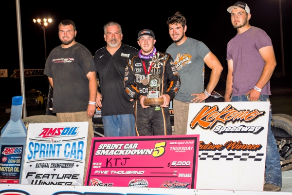 KEVIN THOMAS, JR. LAYS THE SMACKDOWN ON NIGHT ONE AT KOKOMO