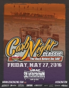 """CARB NIGHT CLASSIC"" SCHEDULE OF EVENTS - 5/27/2016"