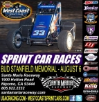 WEST COAST SPRINTS HEAD FOR SANTA MARIA SATURDAY; JOHNSON WINS AGAIN AT CANYON