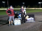 Joey Greening Gets #1 at Gas City.