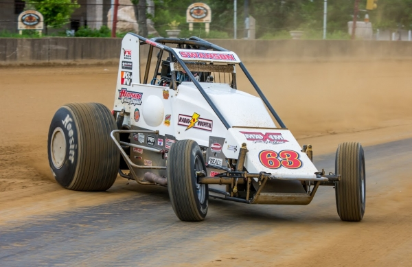"SWANSON STAMPS PLACE IN HISTORY; WINS 3RD STRAIGHT ""HOOSIER HUNDRED"""