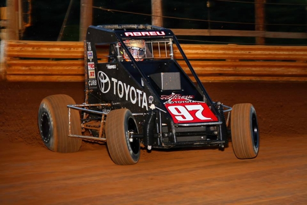 RICO'S LATE-RACE MAGIC LANDS LINCOLN MIDGET WIN