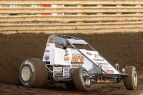 "Reigning ""Bill Gardner Sprintacular"" USAC Sprint winner Robert Ballou of Rocklin, California."