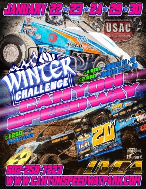 "5th ""WINTER CHALLENGE"" CONCLUDES AT CANYON FRI.-SAT."