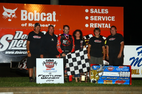 STANBROUGH DOMINATES DEER CREEK FOR FIRST WIN OF 2014