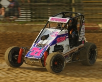 Stratton Briggs - 5th in Midwest Thunder Midget points.
