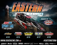 EASTERN STORM USAC SPRINT TOUR BEGINS 2ND DECADE JUNE 13-18 IN PENNSYLVANIA