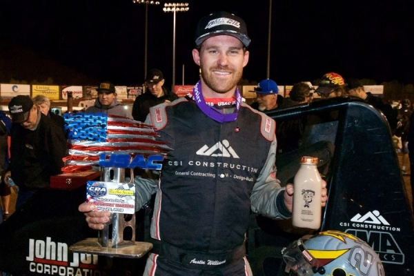 #2 Austin Williams – Perris May 26th Salute to Indy Winner.