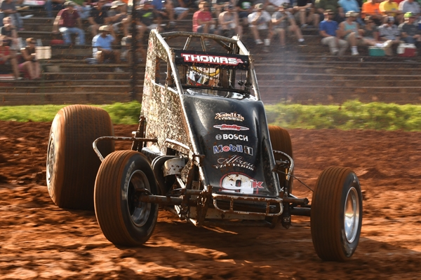 THOMAS LEAVES NO DOUBT IN BLOOMINGTON SHELDON KINSER MEMORIAL SCORE
