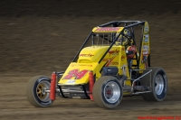 Tracy Hines Leads the Honda National Midget points.