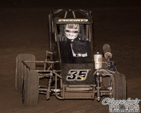 "Michael Faccinto was the winner of Sunday night's ""Louie Vermiel Classic"" USAC Western States Midget feature at Calistoga."
