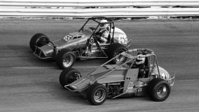 Jeff Conroy (#18) & Mark Alderson (#65) at Salem in 1991.