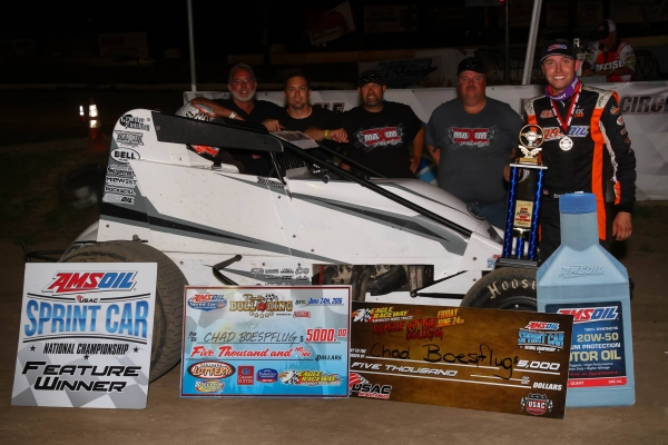 BOESPFLUG BREAKS OUT FOR 3RD WIN OF SEASON AT EAGLE