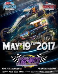 FRIDAY'S TRI-CITY USAC SPRINT/MIDGET DOUBLEHEADER CANCELLED DUE TO FORECASTED RAIN
