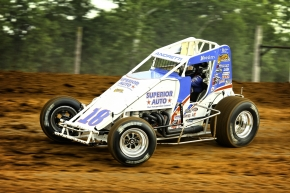 Jarett Andretti competed in five USAC AMSOIL National Sprint Car races in 2013, with a best finish of tenth at Eldora.