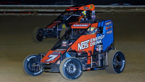 LATE-RACE HEROICS NET COURTNEY LEFFLER MEMORIAL WIN
