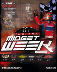 2016 FINAL INDIANA MIDGET WEEK POINT STANDINGS