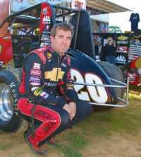 2007 USAC National Sprint Car champion Levi Jones of Olney, Illinois