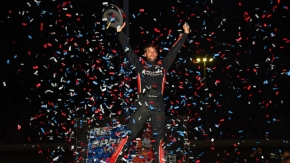 Kyle Cummins equaled Daron Clayton & Kevin Thomas Jr. as the winningest USAC AMSOIL National Sprint Car driver at Tri-State Speedway, winning his fifth Sunday night in the NOS Energy Drink Indiana Sprint Week finale at Tri-State Speedway.