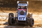 "Logan Seavey earned his second career USAC P1 Insurance National Midget victory in the ""John Hinck Championship"" Sunday night at Sweet Springs Motorsports Complex."