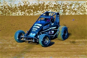 Indiana Sprint Week point leader C.J. Leary.