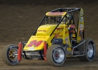 "SPOTLIGHT ON HINES THURSDAY AS HE SEEKS USAC ""TRIPLE CROWN"""