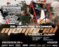 """JOE JAMES-PAT O'CONNOR"" SILVER CROWN RACE AT SALEM SATURDAY"