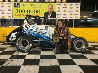 Jessica Bean Wins at Anderson Motor Speedway.