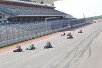 USAC .25 Drivers Take A Lap Around The Circuit of the Americas