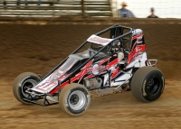 USAC AMSOIL National Sprint Car point leader Justin Grant leads the ProSource Fast Time Challenge heading into September.
