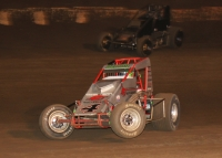 Damion Gardner races to the win at Perris.