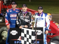 Jon Stanbrough is joined by Shane Cottle & Hunter Schuerenberg after winning at Gas City.