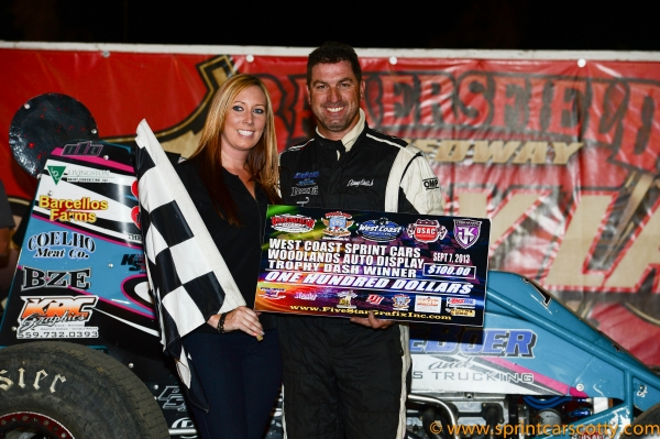 Danny Faria Jr. tops at Bakersfield.