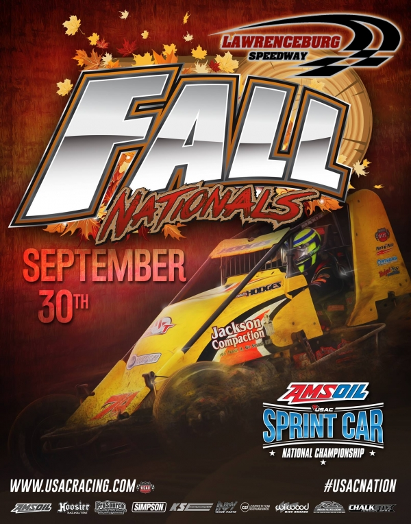 RACEDAY: Lawrenceburg - USAC AMSOIL National Sprints - Sept. 30, 2017