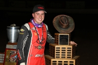 "2018 ""Turkey Night Grand Prix"" winner Christopher Bell of Norman, Oklahoma."
