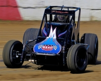 USAC Silver Crown Rookie Johnny Petrozelle from Denton, North Carolina