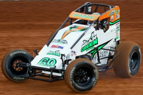 Kevin Thomas, Jr. will chase his first USAC AMSOIL National Sprint championship in the 2018 season for Hoffman Auto Racing.