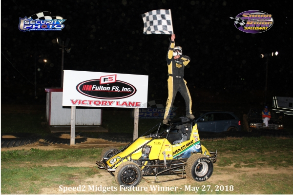 Andy Baugh Wins at Spoon River.
