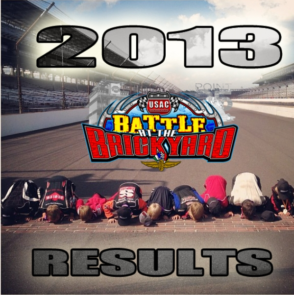 2013 Battle at the Brickyard Complete Results