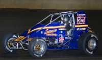 "Jeff Swindell, a 1990 Du Quoin winner, finished 2nd in last year's ""Ted Horn 100."""