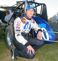 2006 USAC  National Sprint Car champion Josh Wise of Riverside, California