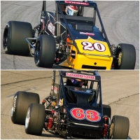 #20 Jerry Coons, Jr. has won USAC Silver Crown races at Toledo Speedway in 2010 and 2012. #63 Kody Swanson did the same in 2011 and 2015.