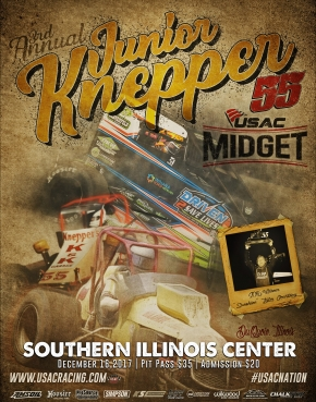 3RD ANNUAL JUNIOR KNEPPER 55 SET FOR DEC. 16 IN Du QUOIN