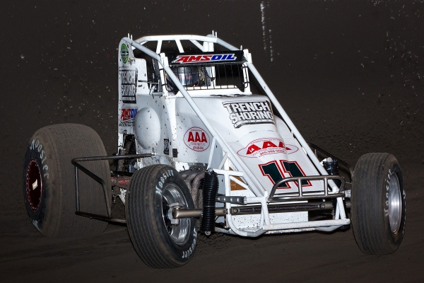 #11 Troy Rutherford at Bakersfield Speedway