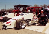 1997 USAC National Sprint Car champion Brian Tyler